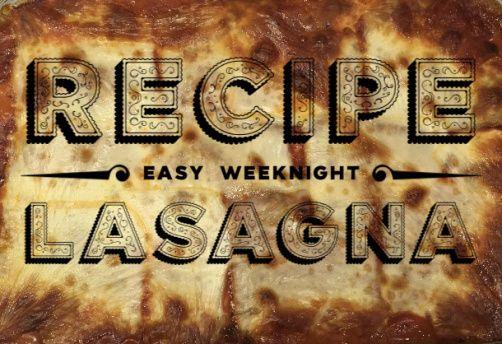 A easy weeknight recipe!