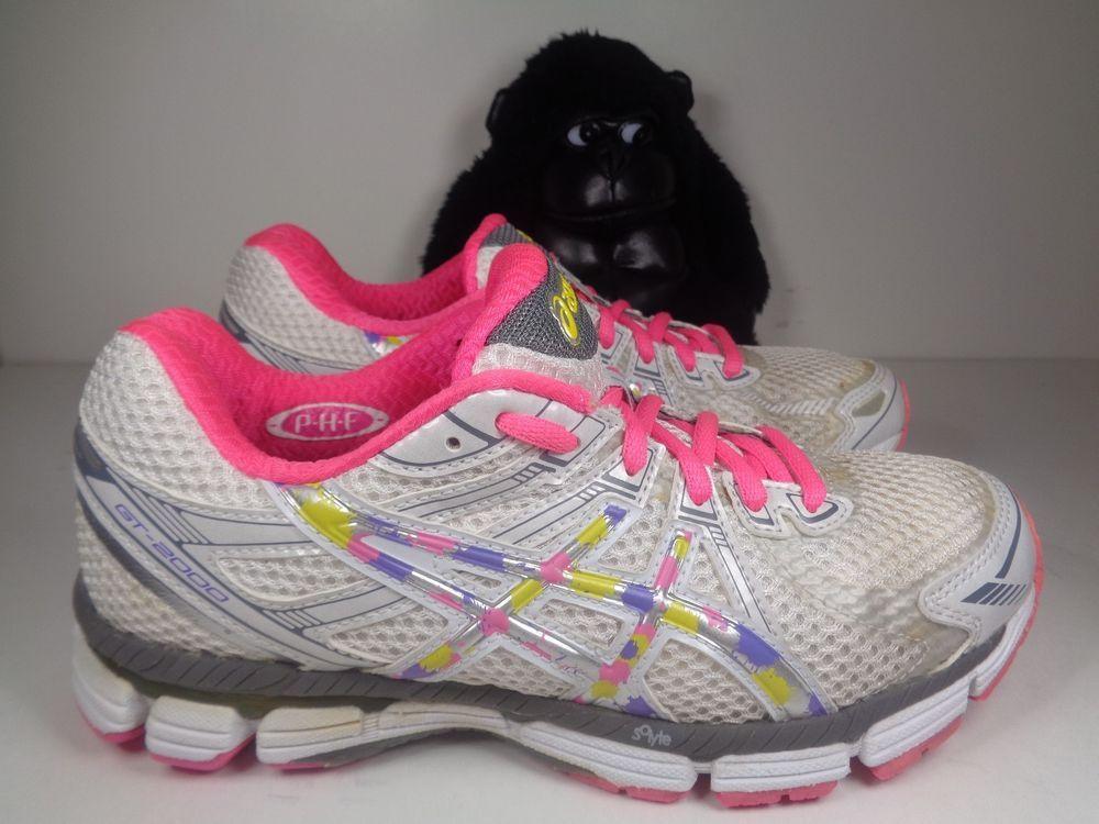 fb9e8e70e0aa Womens Asics Gel GT 2000 Running Training shoes size 6.5 T2K7N  ASICS   RunningCrossTraining