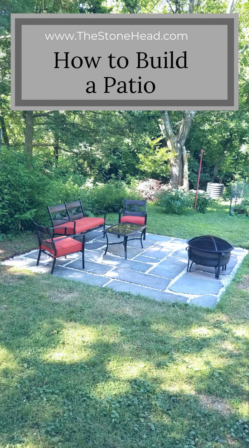 Our Fire Pit and Patio Area is Done! And it only cost $150! #backyardpatiodesigns