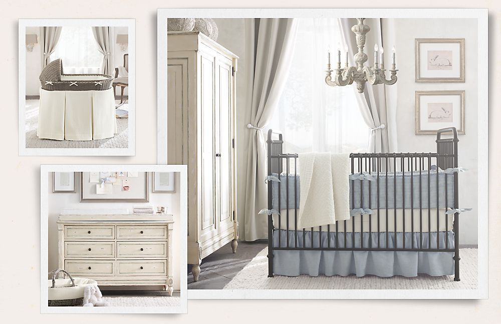Restoration Hardware Baby Child Country Nursery Decor