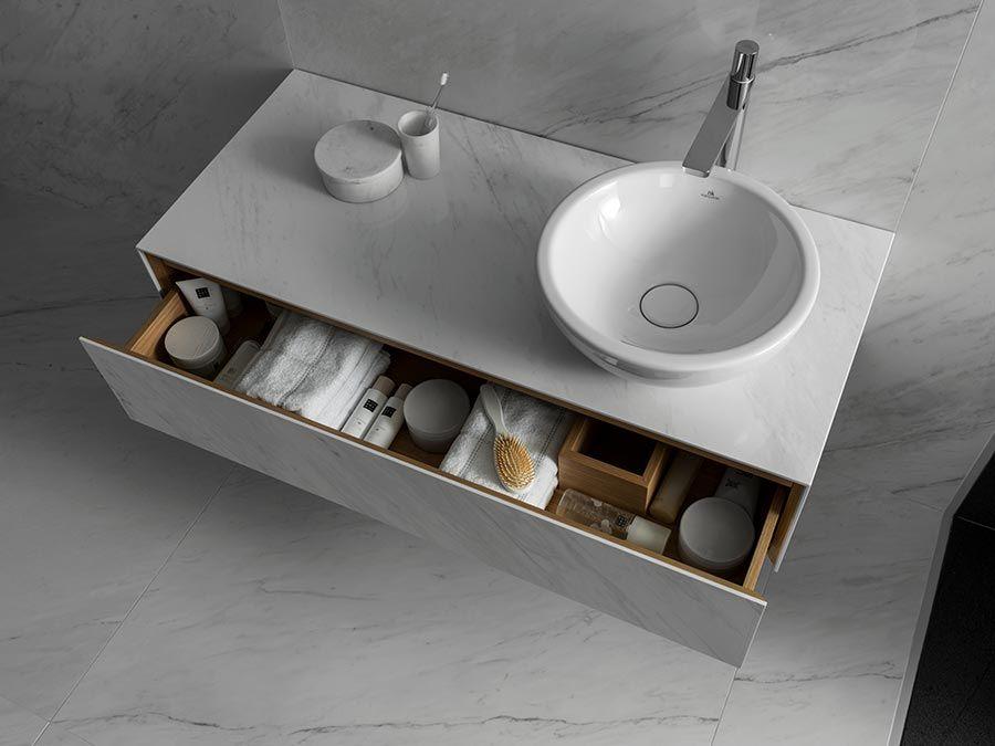 Colección de mueble de baño TILE minimalismo y funcionalidad en - mueble minimalista