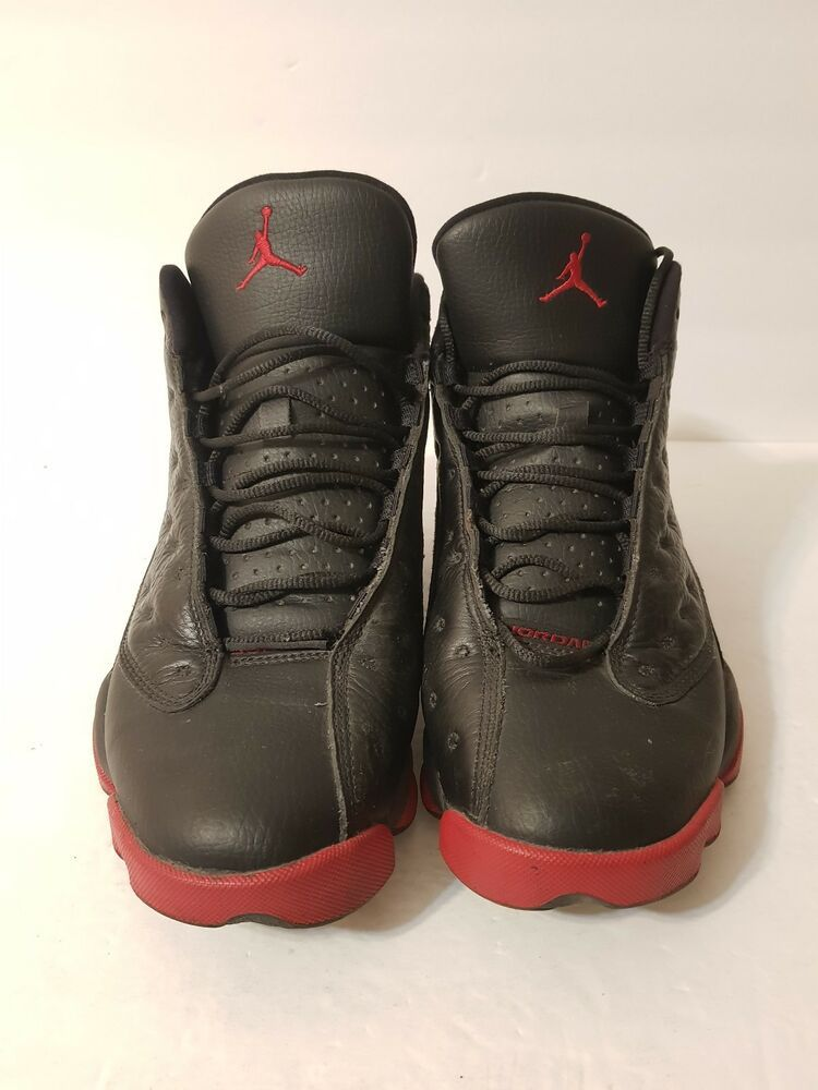 ea6c48d33dd NIKE AIR JORDAN 13 XIII RETRO Dirty Bred Black Gym Red 414571-003 Size 8 ?  #fashion #clothing #shoes #accessories #mensshoes #athleticshoes (ebay link)