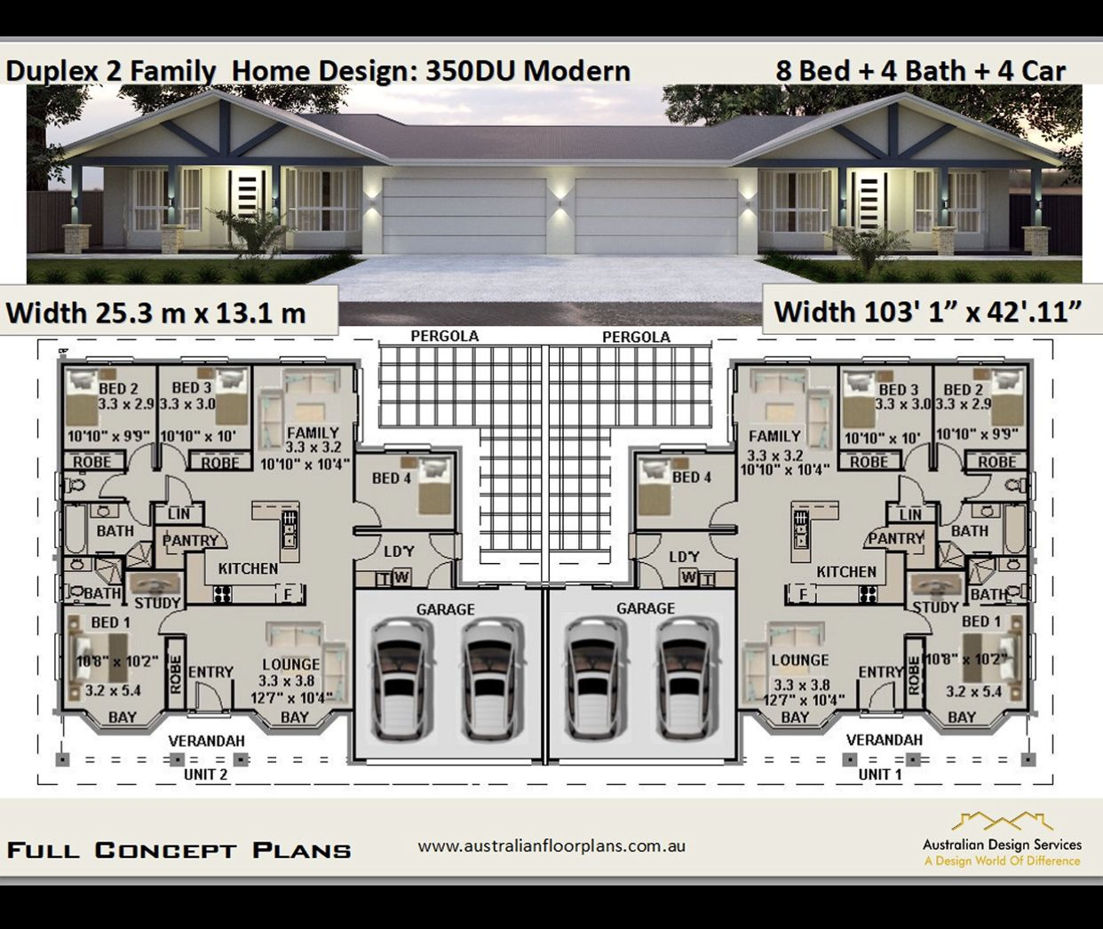 Pin By Gloria Major On For The Home In 2020 Duplex Design Duplex Plans House Plans For Sale