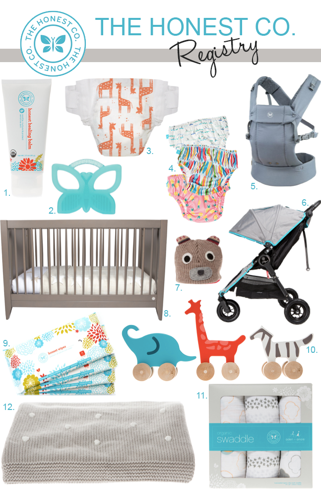 The Honest Company Baby Registry | Honest baby products ...