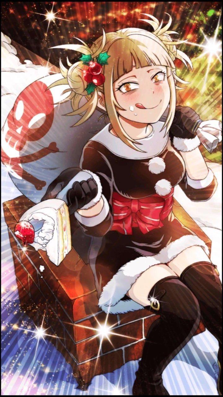 Smash Rising Weihnachten Toga in 2020 Anime christmas