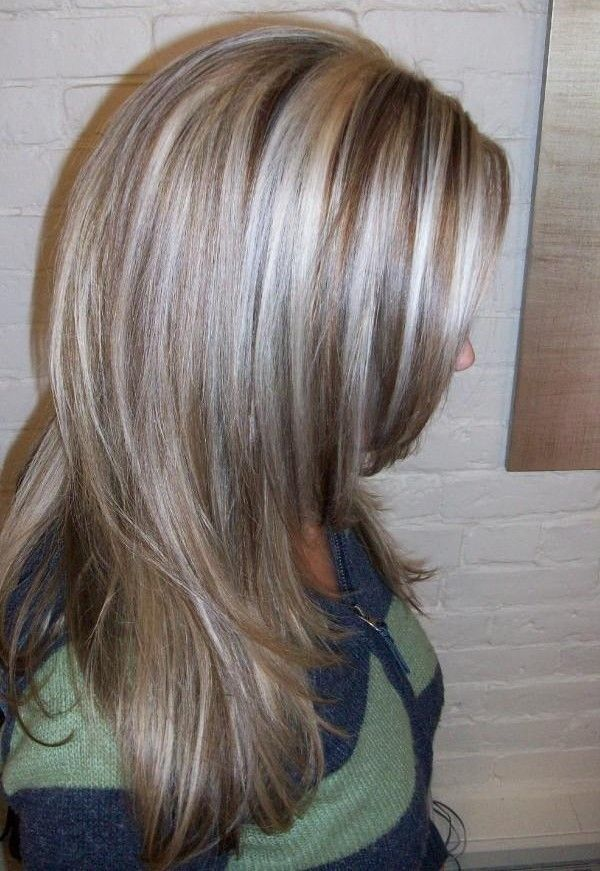 Image result for transition to grey hair with highlights ...