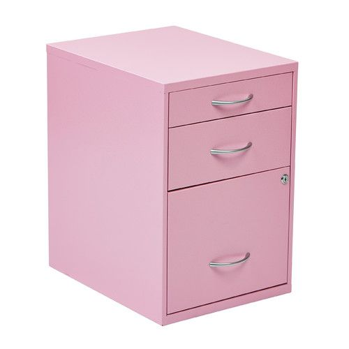 OSP Designs 3 Drawer Metal File Cabinet U0026 Reviews | Wayfair