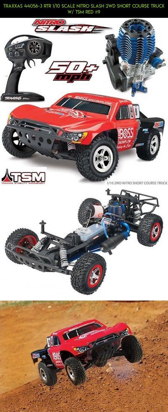 Traxxas 44056-3 RTR 1/10 Scale Nitro Slash 2WD Short Course