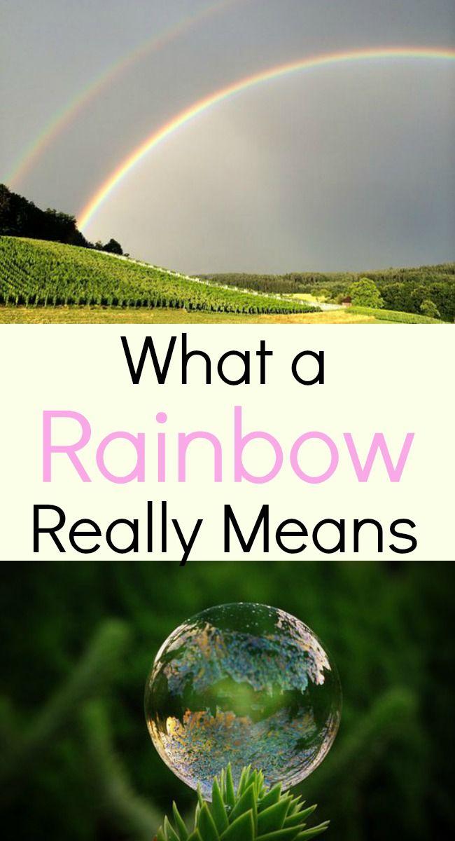 What A Rainbow Really Means My Windowsill Faith Pinterest