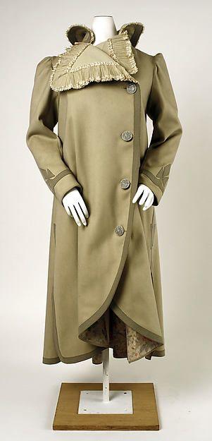 Coat Date: ca. 1901 Culture: French Medium: silk, wool Accession Number: C.I.47.61.2