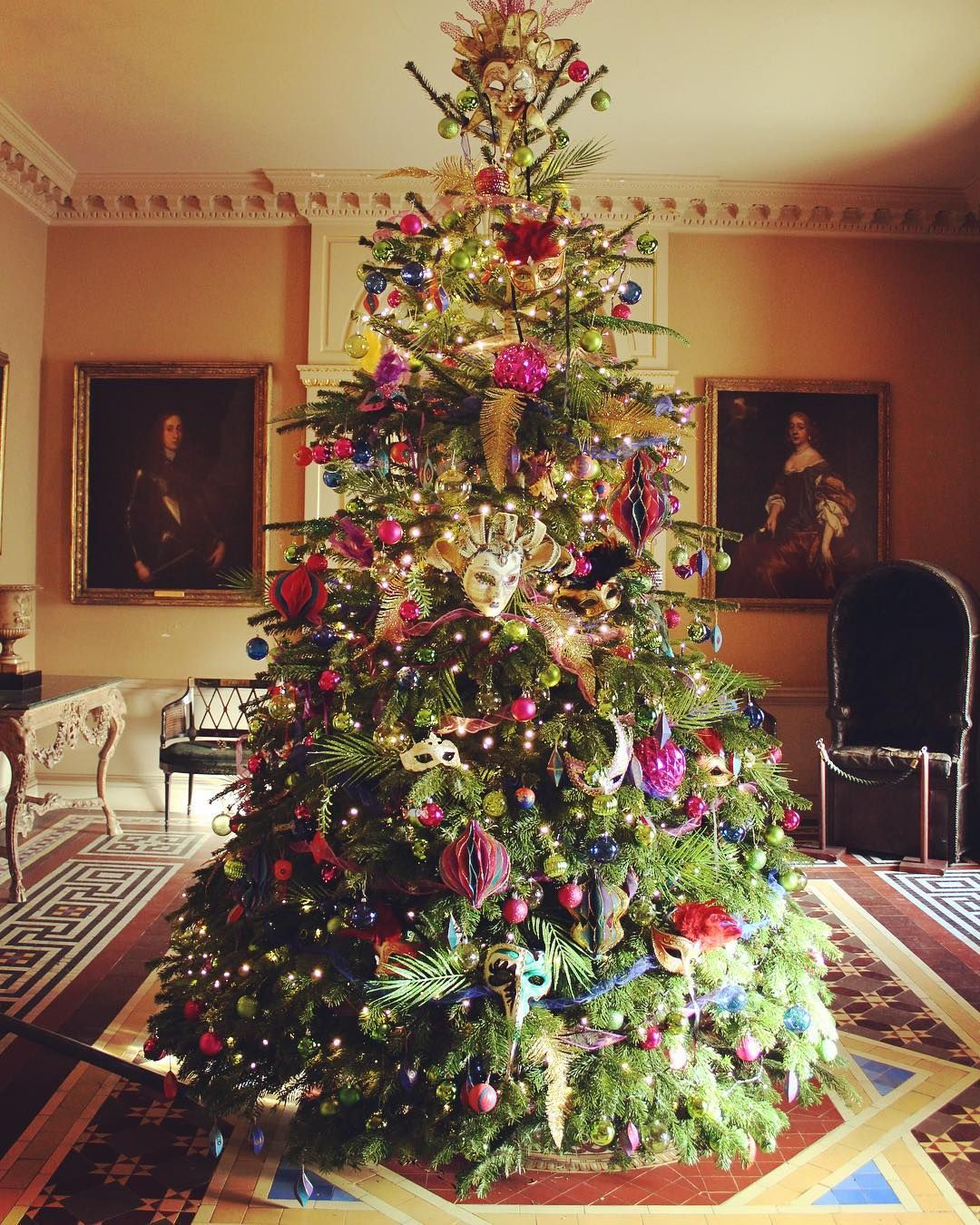 National Trust Does Christmas Christmasweekend Treegoals Ntchallenge Nationaltrust Wimpole Estate Nt Holiday Decor Christmas Tree Holiday