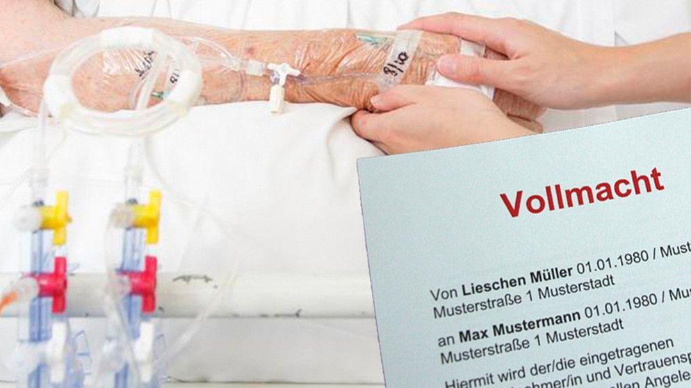 Vorsorgevollmacht Und Patientenverfugung Das Ist Fur Den Notfall Zu Beachten Br De Patientenverfugung Schnell Schreiben Vollmacht