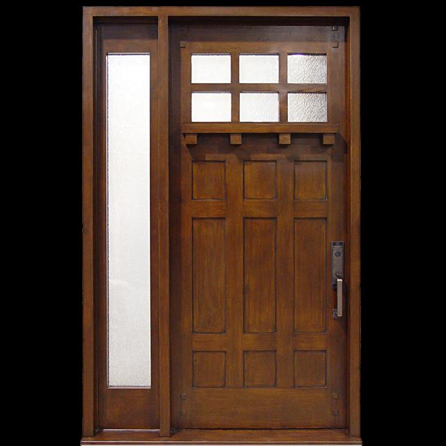 Craftsman collection 1939 species knotty alder for Wide exterior door