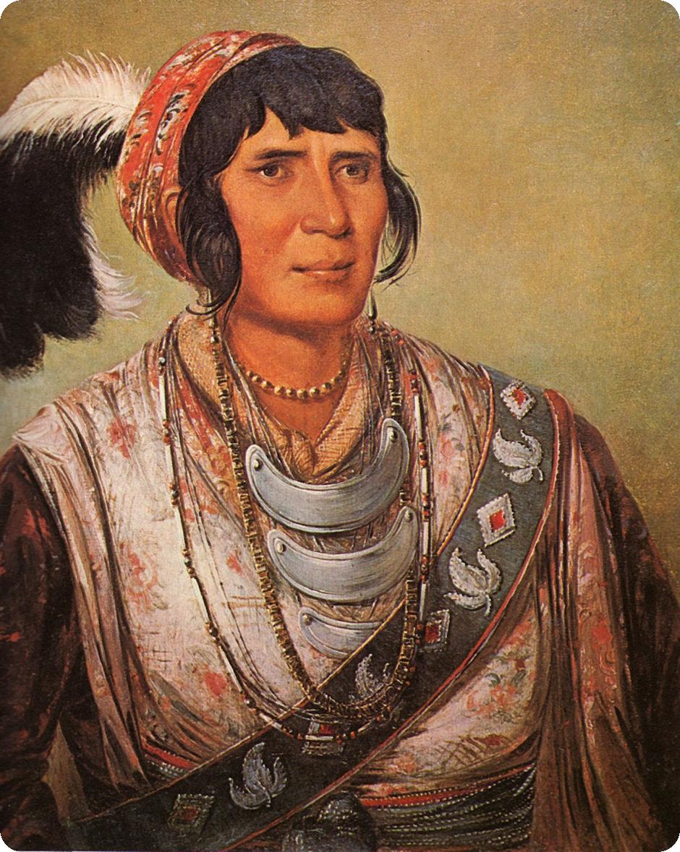 By George Catlin   Seminole tribe, Portrait, Seminole wars