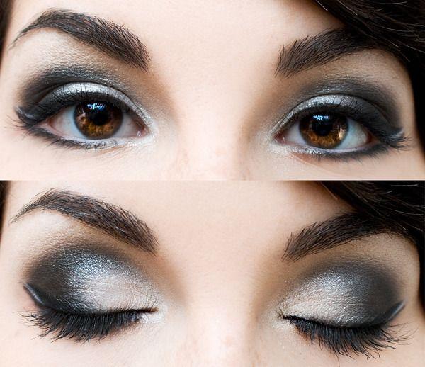 Smokey eyes for brown eyes...love