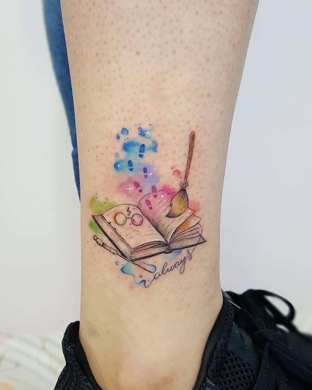 Harry Potter Tattoos Design Inspiration for Fans - Inside Out