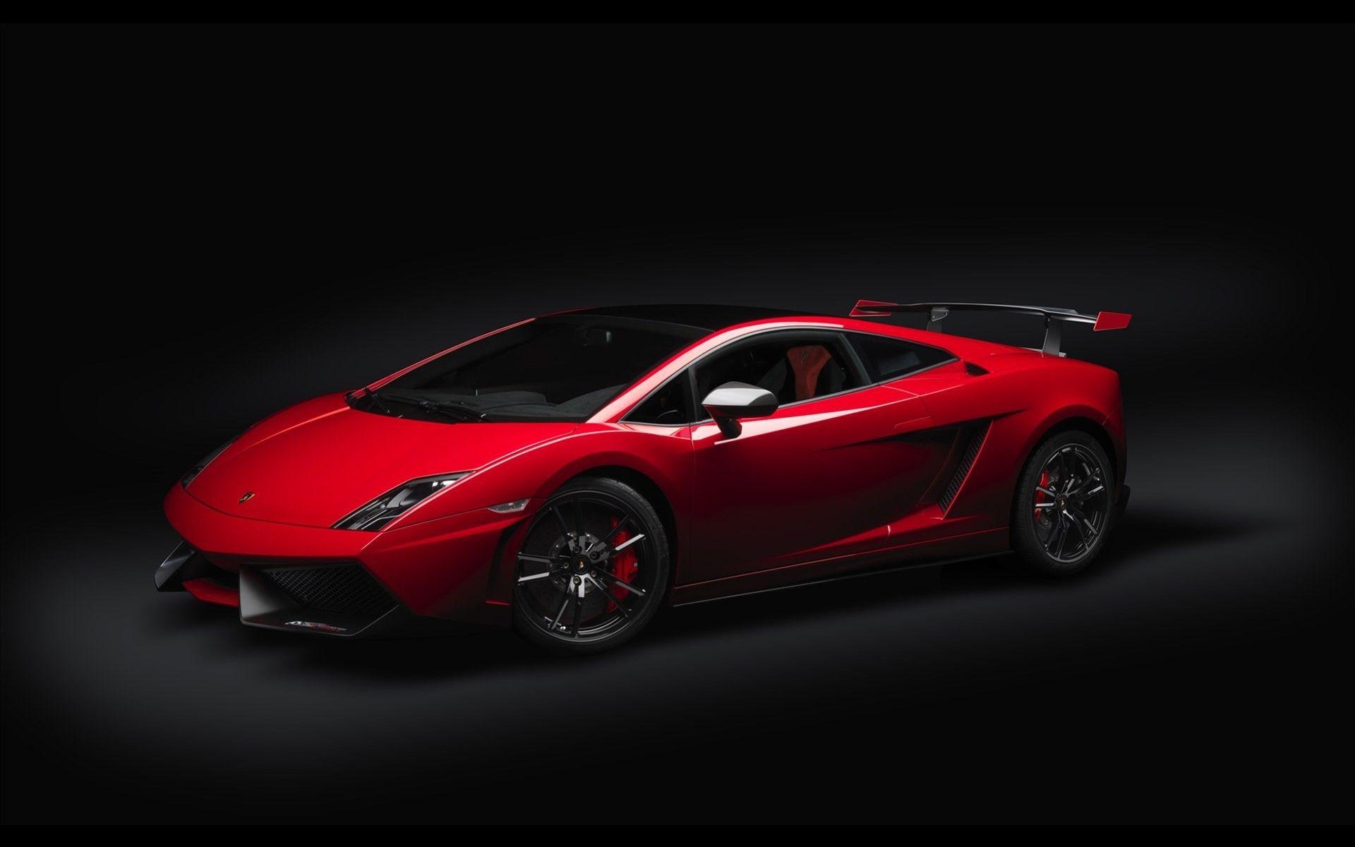 Lamborghini Black Background Cars Red Vehicles Wallpaper Lamborghini Gallardo Red Lamborghini Sports Car Wallpaper