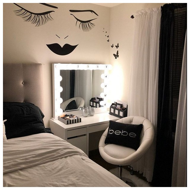89 Makeup Room Inspiration I Love This Vanity In My Makeup Room Page 00031 Pointsave Net Stylish Bedroom Bedroom Design Small Room Bedroom