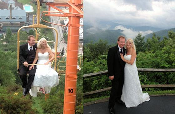 Sky Lift Weddings Weddings Romance In Gatlinburg Tn Country Theme Wedding Smoky Mountain Wedding Mountain Wedding