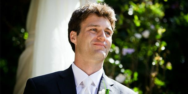 """Read http://weddings.gatheringguide.com/ac/all-about-you/beauty-tips-for-manly-men - Photo by kathy ireland Weddings, with the article """"Beauty Tips for Manly Men"""". #makeupformen #handsome #groom #wedding #men"""