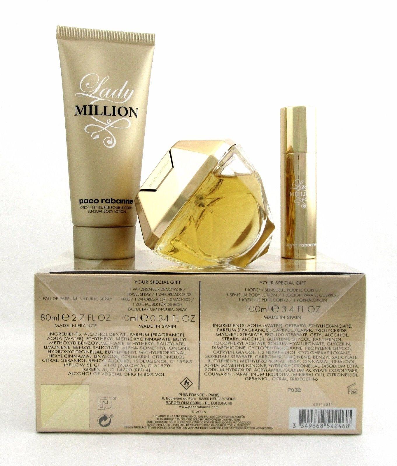 Paco Rabanne Lady Million Set Cosmetic Paco Rabanne Lady Million