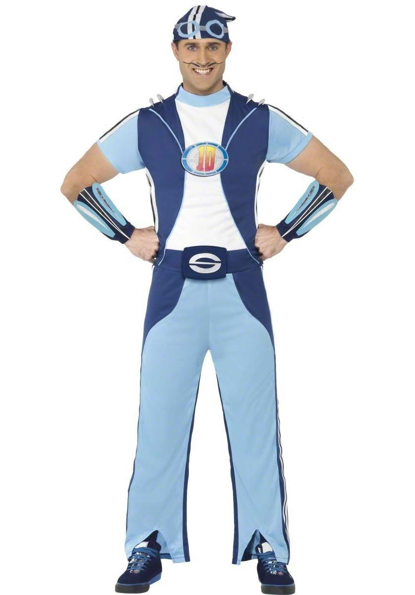 Lazy Town Sportacus Adult Costume - Hollywood  sc 1 st  Pinterest & Lazy Town Sportacus Adult Costume - Hollywood | Cool outfits ...