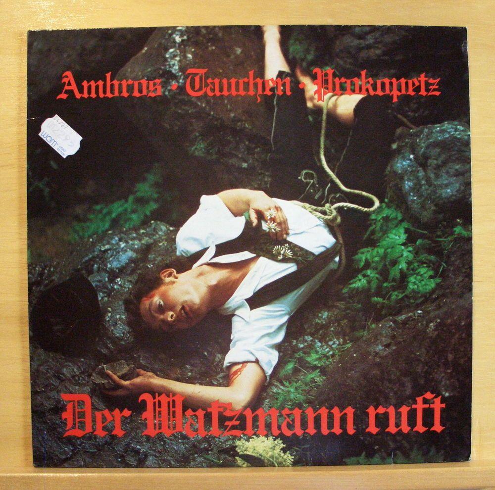 AMBROS TAUCHEN PROKOPETZ - Der Watzmann ruft - mint minus -Vinyl LP - Austro-Pop