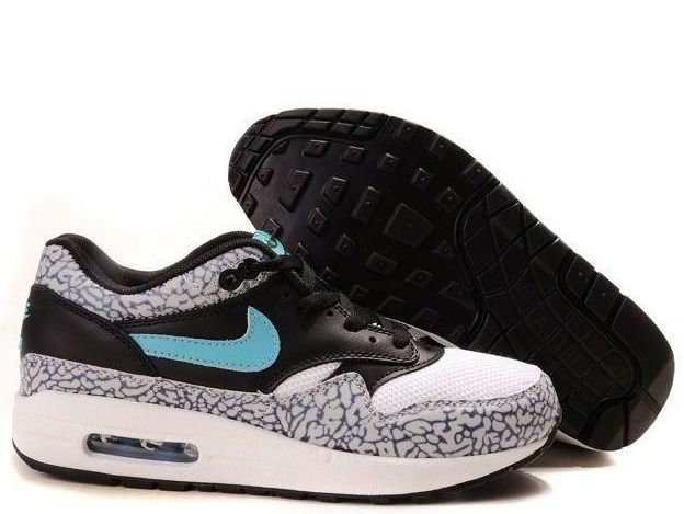 dda7bd54ac Fake Mens Nike Air Max 1 Premium Atmos Elephant Safari Shoes $42.98 ...
