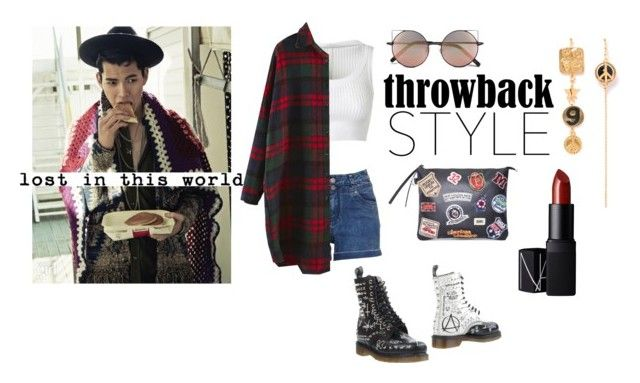 In the mirror you're just.... by poisonivy19 on Polyvore featuring polyvore fashion style Alaïa Dr. Martens Linda Farrow NARS Cosmetics women's clothing women's fashion women female woman misses juniors DrMartens koreanmodel koreanboys throwbackstyle hanseungsoo
