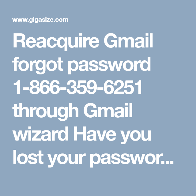 forgot password wizard