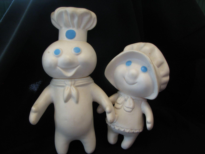 pillsbury doughboy family mr and mrs pillsbury doughboy dolls by thelongacreflea on etsy