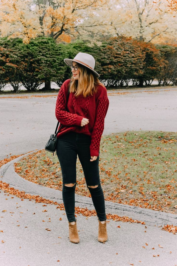 Cozy Cableknit + FF Link-Up! #outfitswithhats