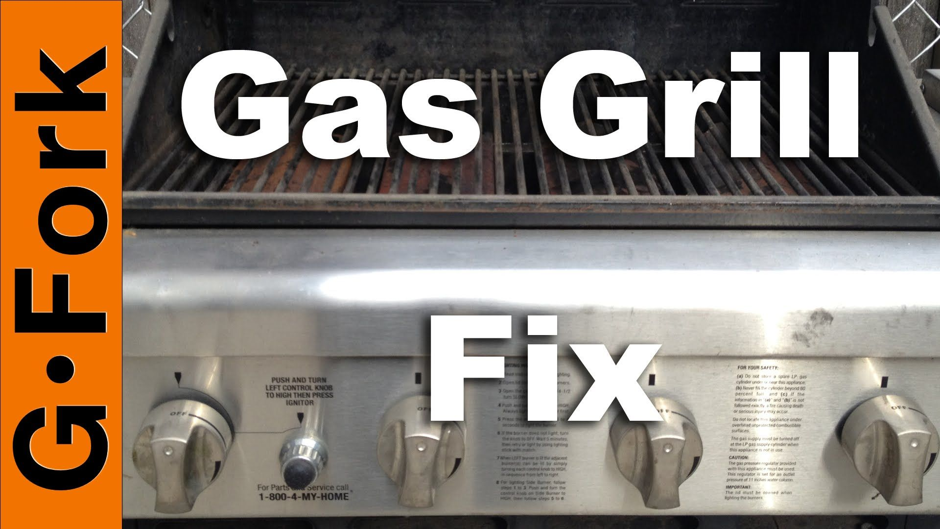 Gas Grill Repair Grill Wont Light Or Stay Lit Gardenfork Gas Grill Propane Grill Propane Gas Grill