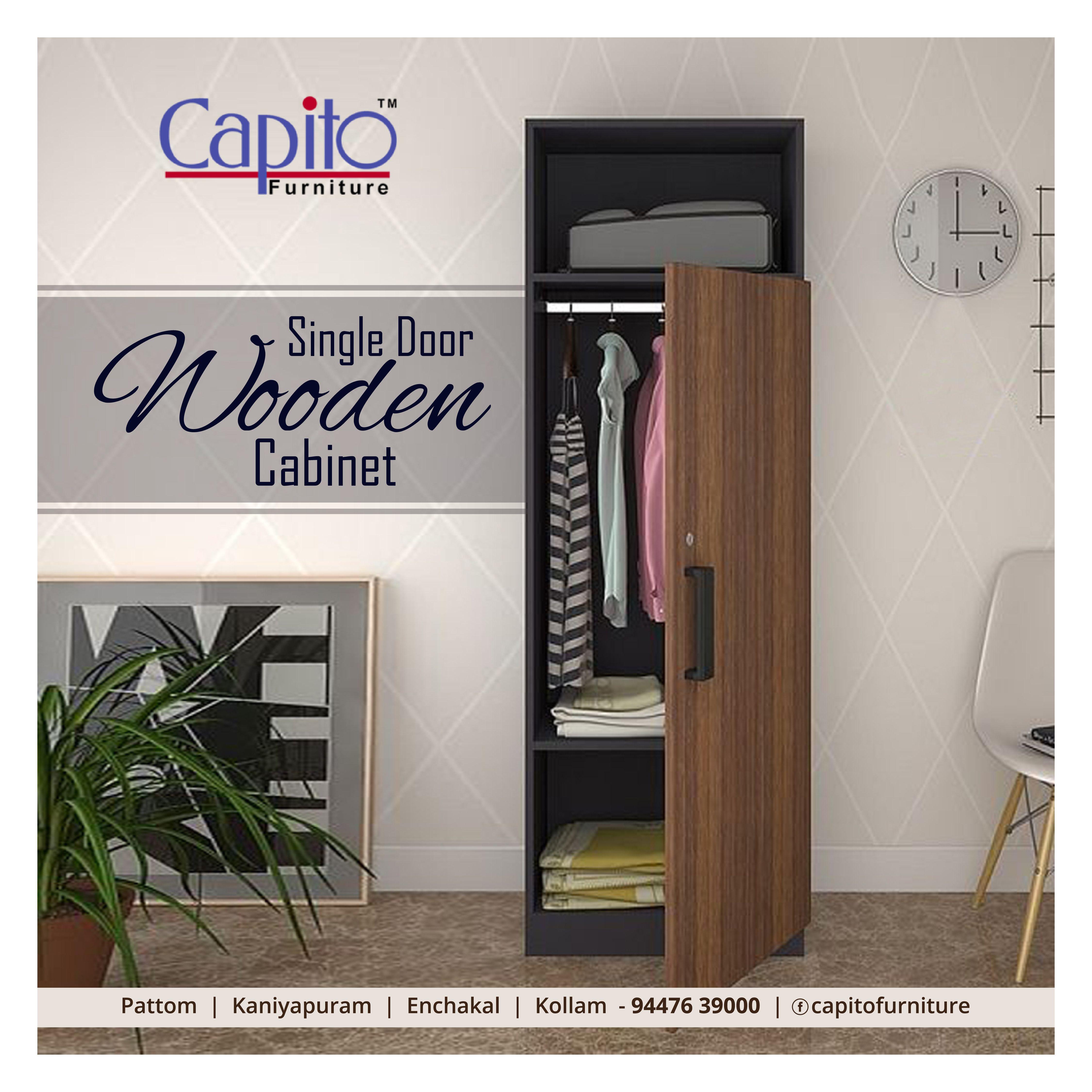 Single Door Wooden Cabinets In 2020 Single Doors Wooden Cabinets Furniture Shop