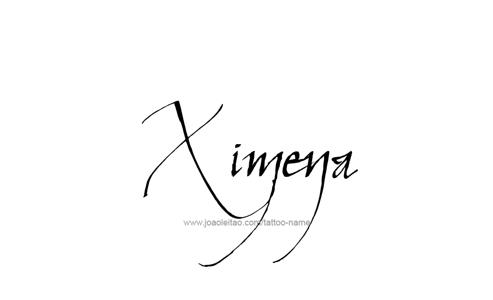 Ximena Name Tattoo Designs Tatoo Tatuajes De Nombres Nombres Y