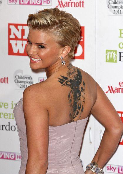 Kerry Katona Artistic Design Tattoo Celebrity Tattoos Best Celebrity Tattoos Celebrity Tattoos Male