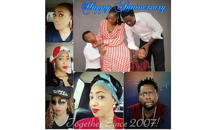 See what klint da drunk did for his wife to celebrate th wedding