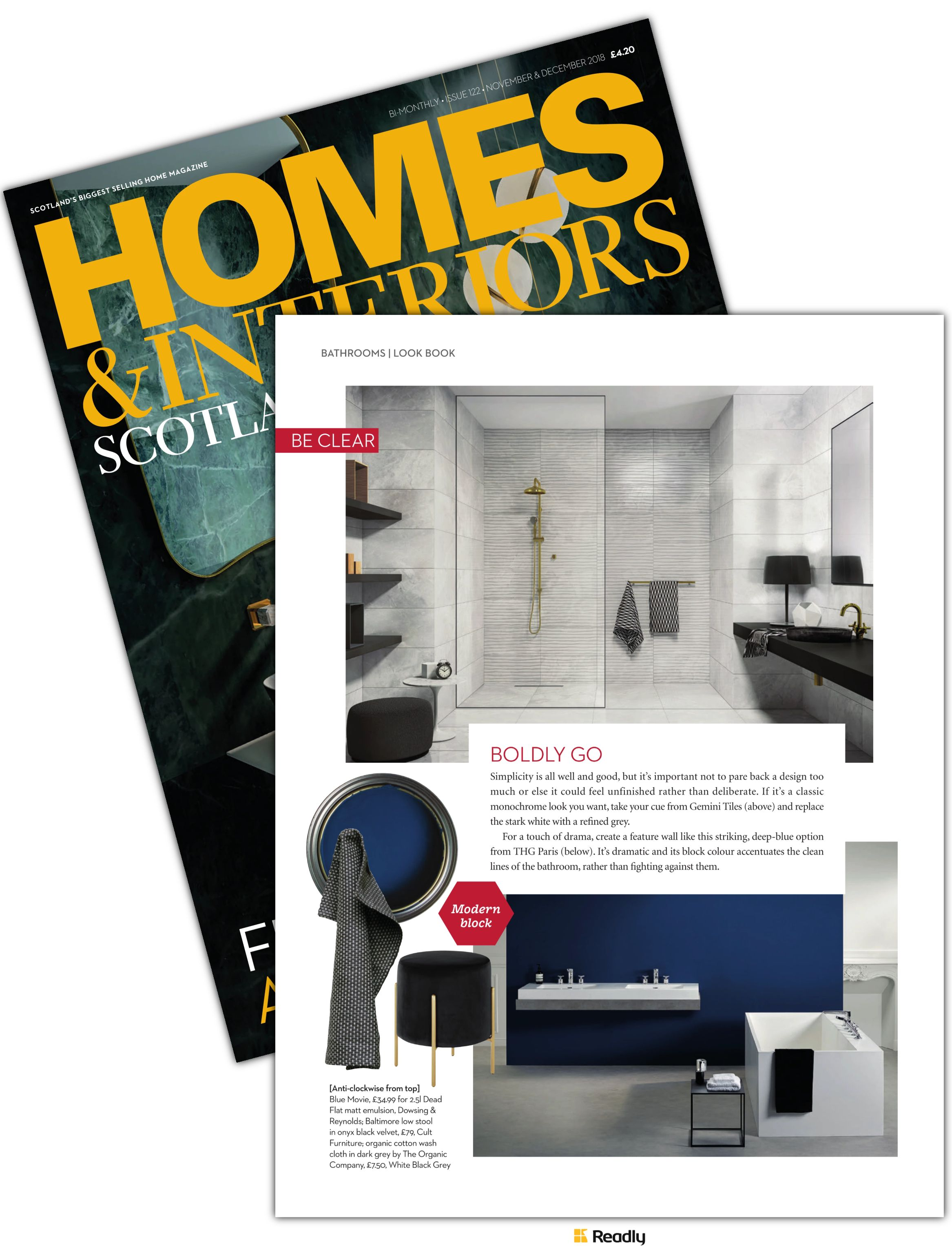 Suggestion about homes  interiors scotland nov dec page also rh in pinterest