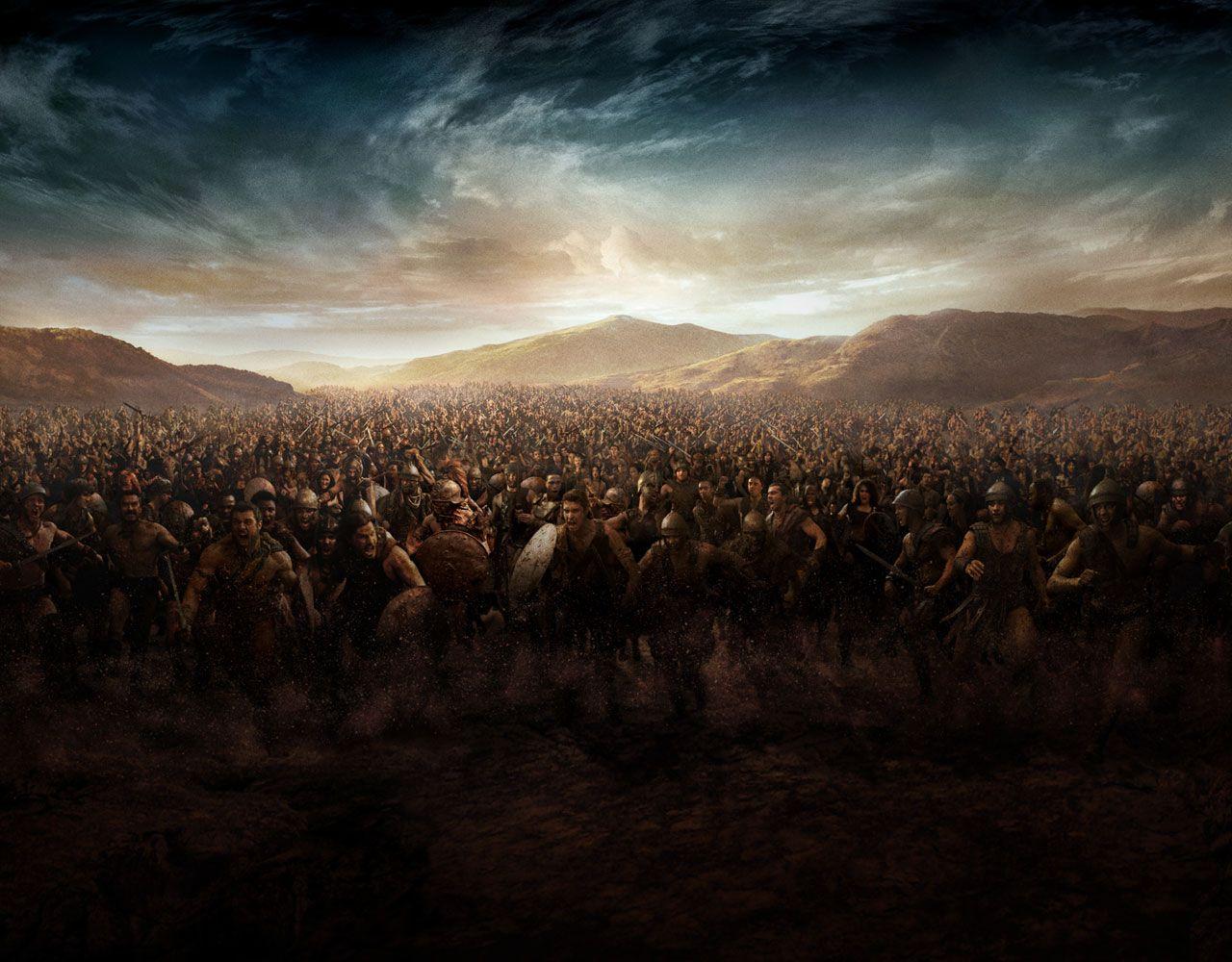 Uitzending gemist | Spartacus: War Of The Damned, Separate ...
