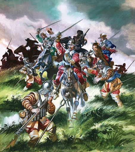 English Civil War by Ron Embleton