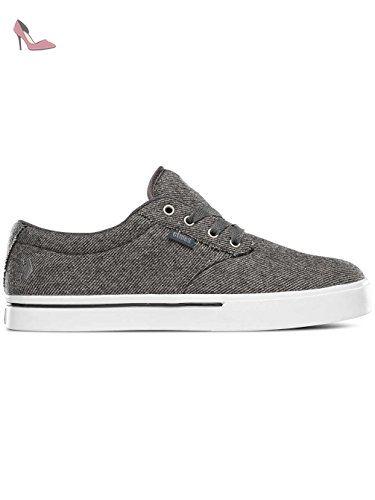Etnies Jameson Vulc, Chaussures de Skateboard Homme, Gris (Grey/Green) 42 EU