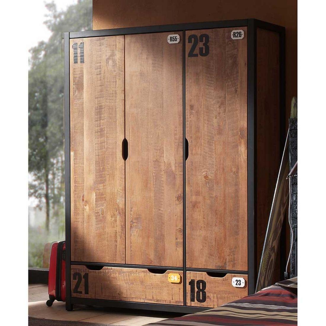 Großartig Jugendzimmer Kleiderschrank Referenz Von Stilvolle-kleiderschrank-trial-jugendzimmer-kleiderschrank -mucenna-aus-kiefer-