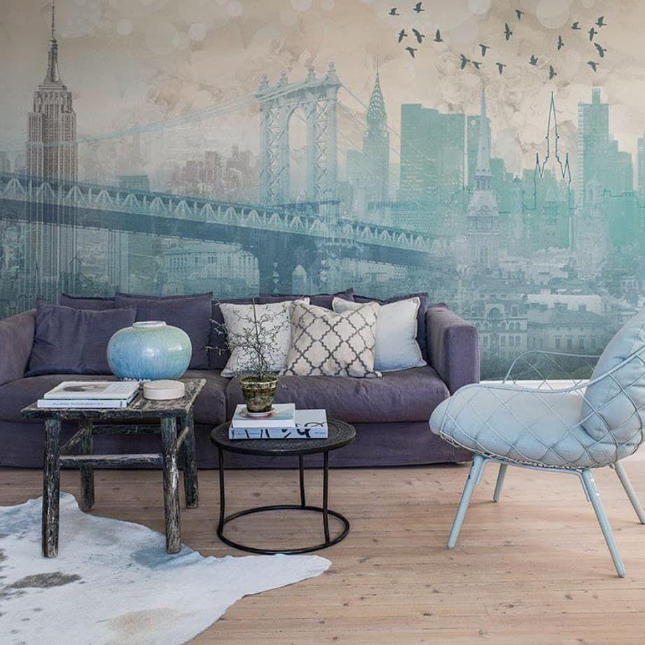 43 фото фрески на стену в интерьере гостиной – 2019 Дизайн ...