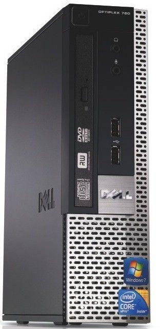 Dell Optiplex 780 USFF Core 2 Duo Computer Windows 7 Pro 64