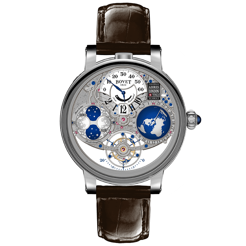 Bovet 1822 Dimier Récital 18 R180002  price: 295,000 CHF           (in either red or white gold)