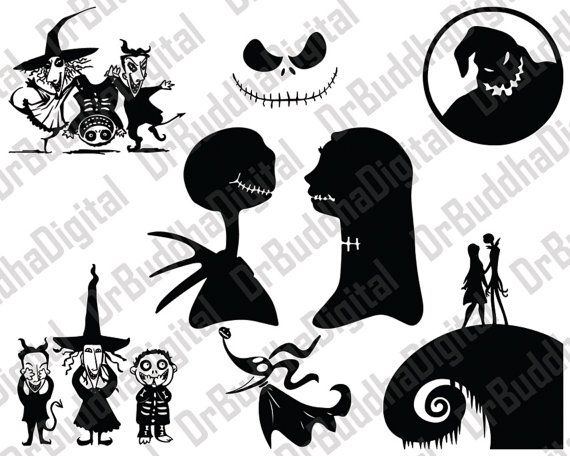holiday sale nightmare before christmas svg by drbuddhadigital christmas stencils christmas svg xmas