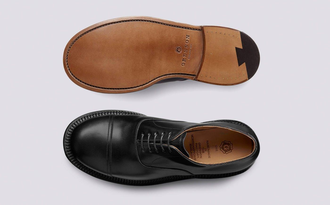 NEW MENS Grenson Shoe Horn Black