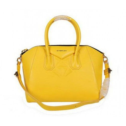 Givenchy Small Antigona Bags on Sale - Givenchy small diamond antigona nappa leather 9981S yellow