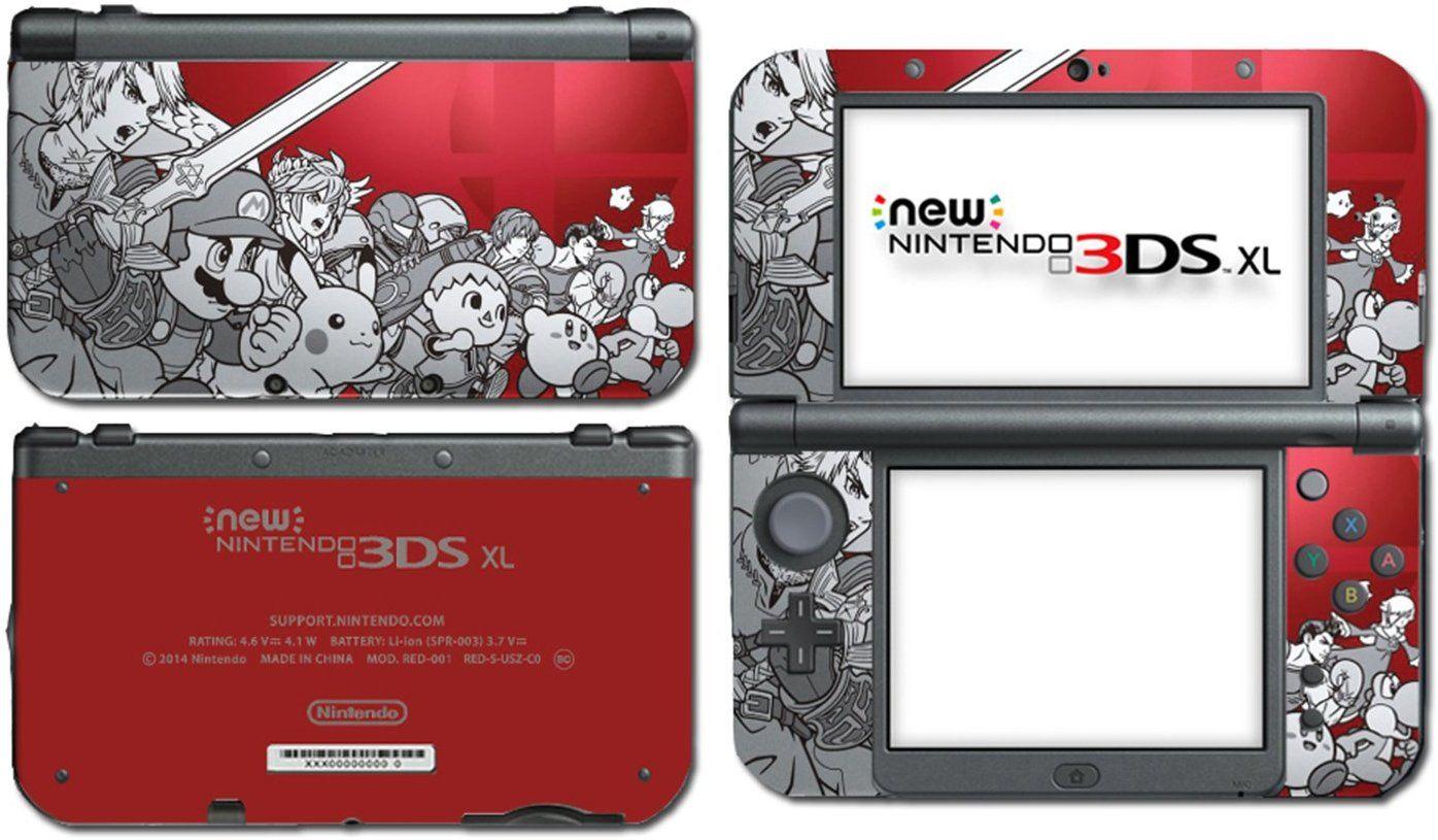 Super Smash Bros 3d Melee Brawl Vinyl Decal Skin Sticker Cover For The New Nintendo 3ds Xl Nintendo 3ds Super Smash Bros New Nintendo 3ds Xl
