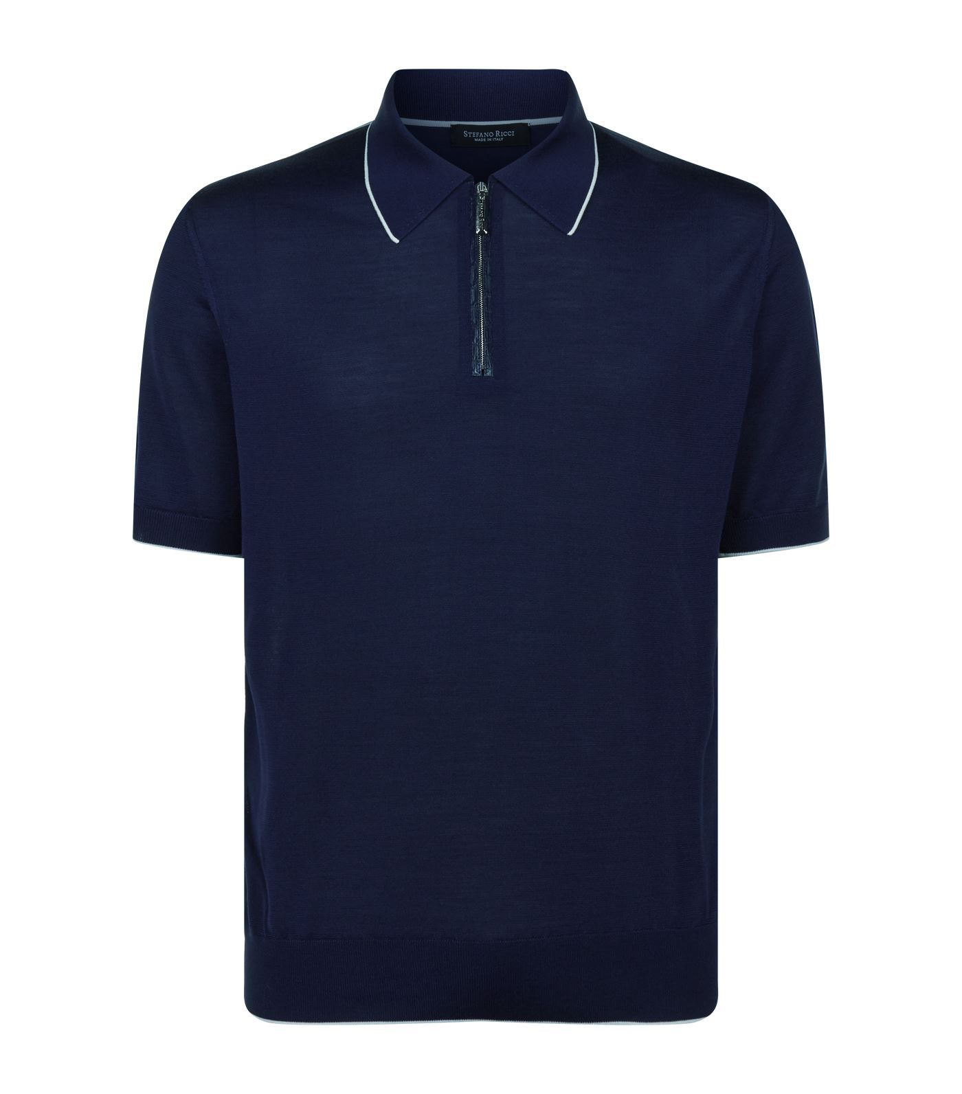 Stefano Ricci Dark blue Men/'s polo shirt